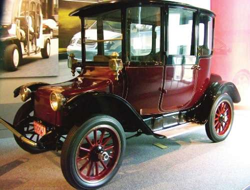 A Detroit Electric car from 1914