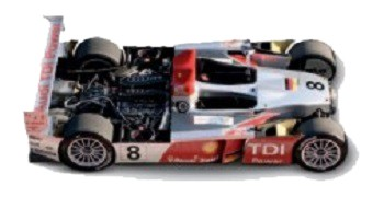 Audi R10 TDI. Winner at Le Mans