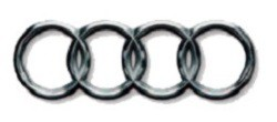 Audi logo introduced 1964