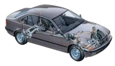 BMW 5 Series suspension