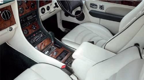 Bentley Continental R 1991-2003 interior A