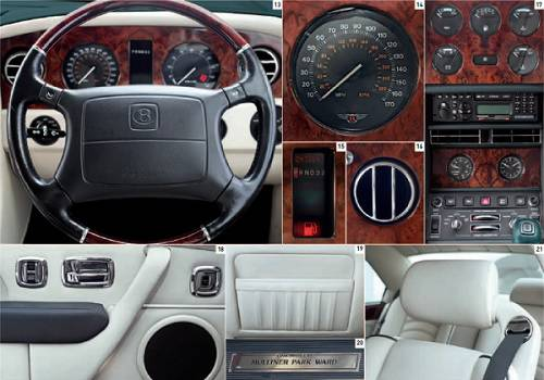 Bentley Continental R 1991-2003 interior B