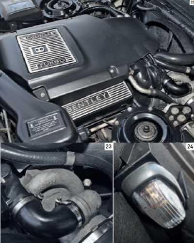 Bentley Continental R 1991-2003 under the hood