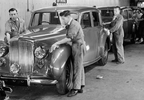 Bentley MkVI, 1946