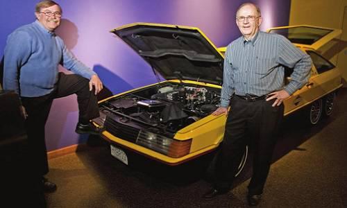 Bill Latus and Bob Mitchell
