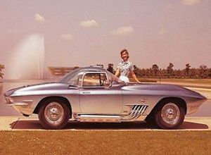 Chevrolet Corvette XP 755 1962