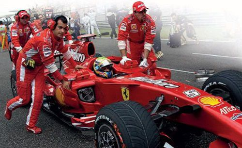 Chinese Grand Prix, Shanghai, 2007