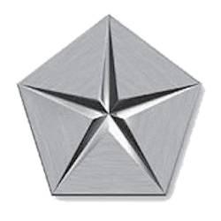 Chrysler logo introduced 1962