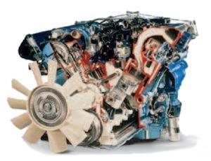 Engine V12 Jaguar XK
