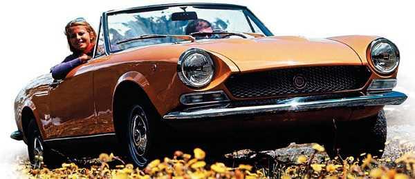 Fiat 124 Spider, 1966