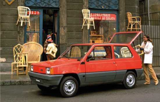 Fiat Panda Mk 1, 1980