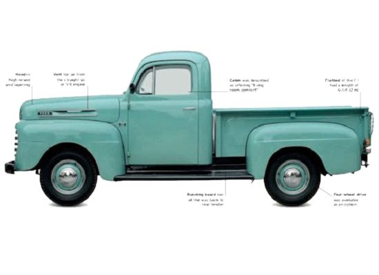 Ford F1 1948-52 specification