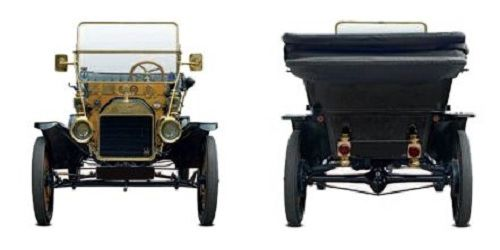 Ford front and rear view