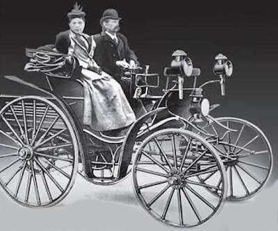 Karl Benz and Klara