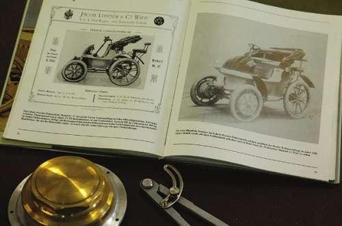 Lochner Porsche in the book of history