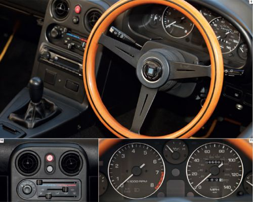 Mazda MX-5 1989-97 interior