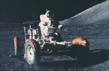 Nasa Lunar Roving Vehicle 1971