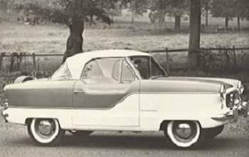 Nash Austin Metropolitan 1954