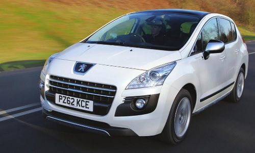 Peugeot's 3008 was the world's first diesel–electric hybrid