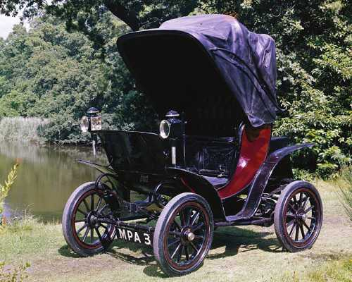 Queen Alexandra's electric car