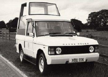 Range Rover Popemobile 1982