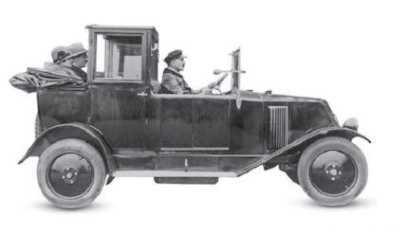 Renault 6CV taxi 1926