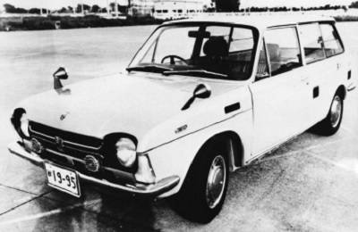 Subaru Electro-wagon concept in 1971