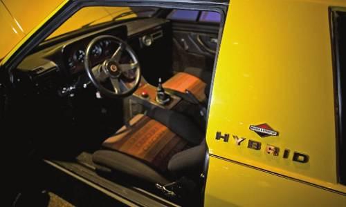 The Briggs & Stratton six-wheel hybrid