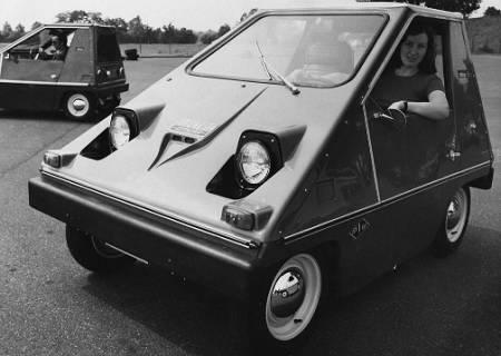 The CitiCar in 1974