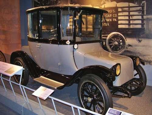 The Detroit Electric car