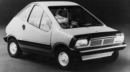 The Fiat electric prototype