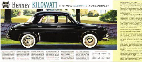 The Kilowatt was a serious attempt to offer an EV