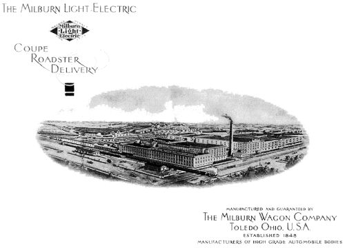 The Milburn Light Electric factory in Toledo