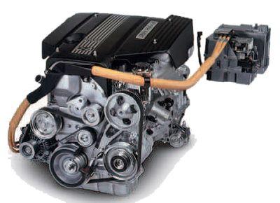 Toyota Prius hybrid power plant