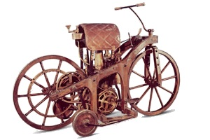 Daimler's 1885 motorcycle