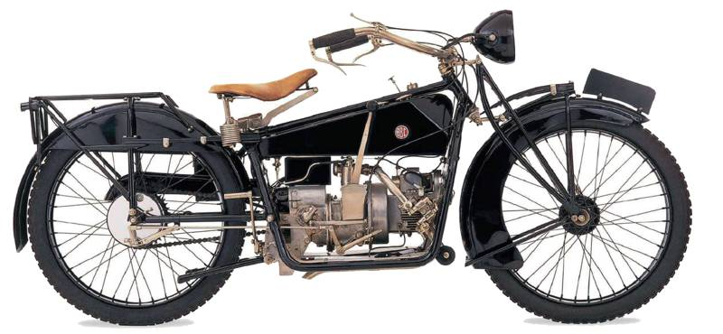 ABC motorcycles side view