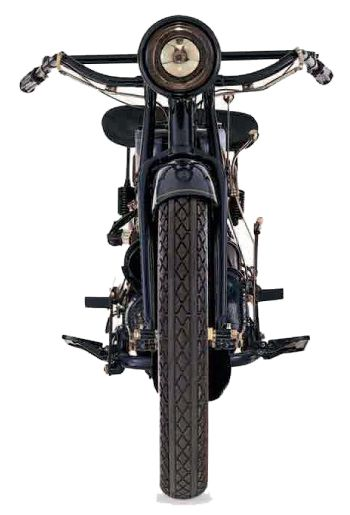 ACE motorcycles front view