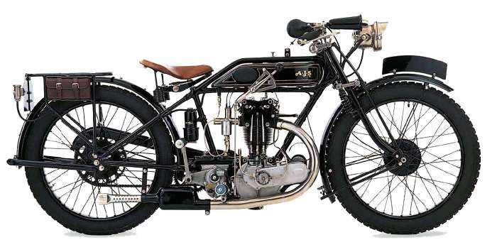AJS 350 G6 motorcycle