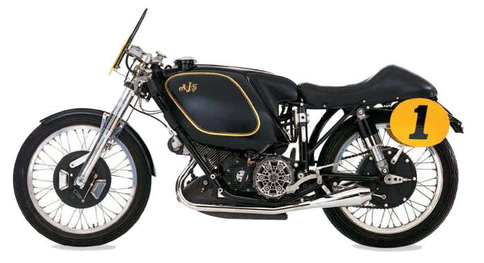 AJS Porcupine motorcycle