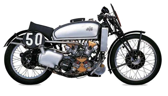 AJS Supercharged V4 motorcycle