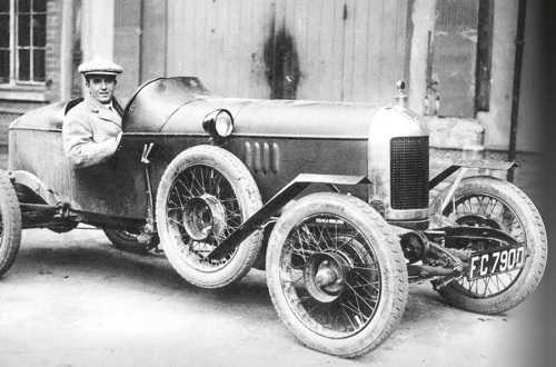 Cecil Kimber in MG Old No. 1