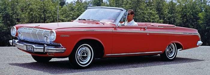 Dodge Polara convertible 1963