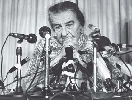 Golda Meir helped found the State of Israel