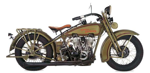 Harley-Davidson JD28 motorcycle