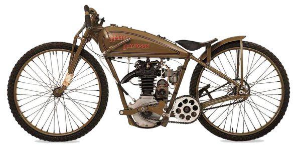 Harley-Davidson Model S Racer motorcycle