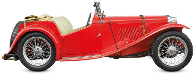 MG TC 1935-1955