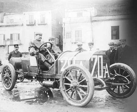Vincenzo Lancia the 1907