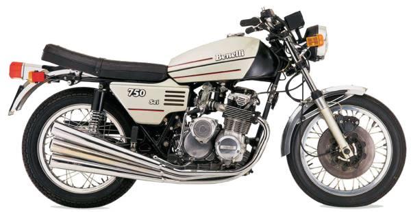 Benelli 750 Sei motorcycle